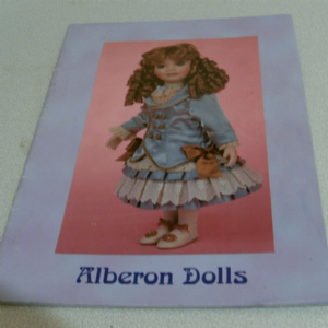 ALBERON DOLLS 1999-2000 CATALOGUE @sold@